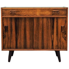 Cabinet Rosewood, Danish Design, 1970s, Designer Niels J. Thørso