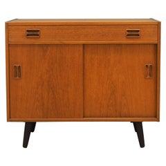 Cabinet Teak, Danish Design, 1970s, Designer Emil Clausen
