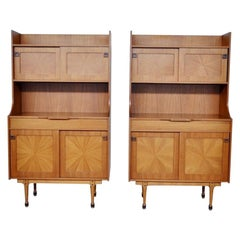 Cabinets Set in Rosewood, Italy, 1960s