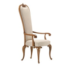 Cabriole Chair with Armrests