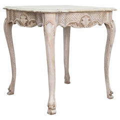 Cabriole Leg French Wooden Table