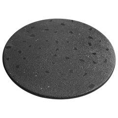 Cacao All Black Edition Terrazzo Round Board