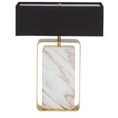 Caccia Rectangular Table Lamp