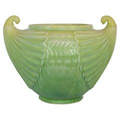 Cachepot Laveno, Design Cristopher Dresser for Soc, Ceramica Italiana Italy 1912