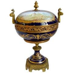 Cachepot Sèvres Porcelain Origin France