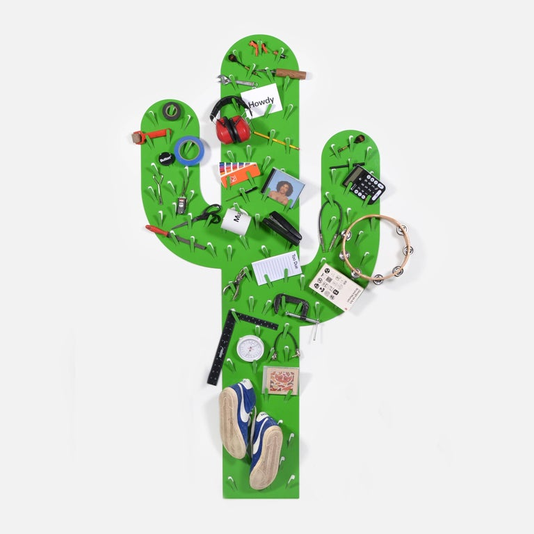 American Cactus Catchall by Andrew Neyer in Powder Coated Steel, USA, 2017 For Sale