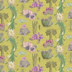 Cactus Mexicanos in Limon Botanical Wallpaper