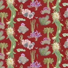 Cactus Mexicanos in Sangre Botanical Wallpaper