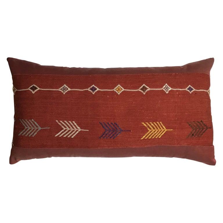 Cactus silk pillow, 21st century, offered by Joseph Malekan