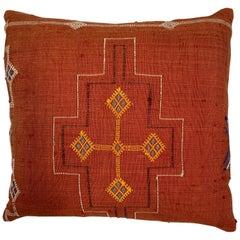 Cactus Silk Red Pillow