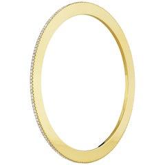 Cadar Solo Bracelet, 18 Karat Yellow Gold and 1.93 Carat White Diamonds, Medium