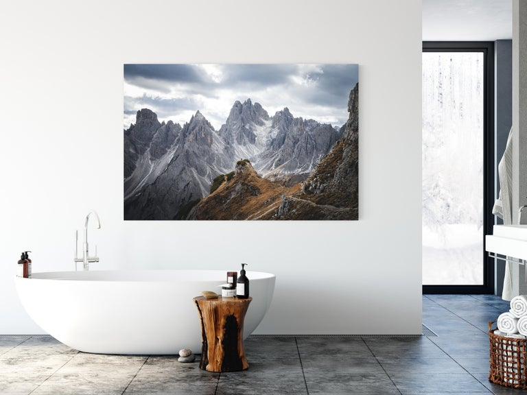 Acrylic Cadini di Misurina by Christiaan Nies For Sale