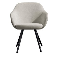 Cadira Cone-Shaped Chair with Armrests