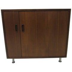 Cado Walnut Stereo Cabinet by Poul Cadovius, Denmark