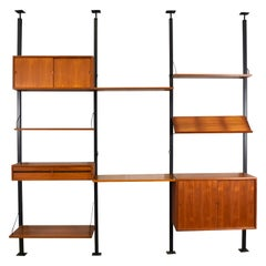 Cadovius Royal Room-Divider Wall Unit, Denmark, circa 1960