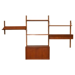 Cadovius Royal Wall Unit in Teak, Denmark, 1950s