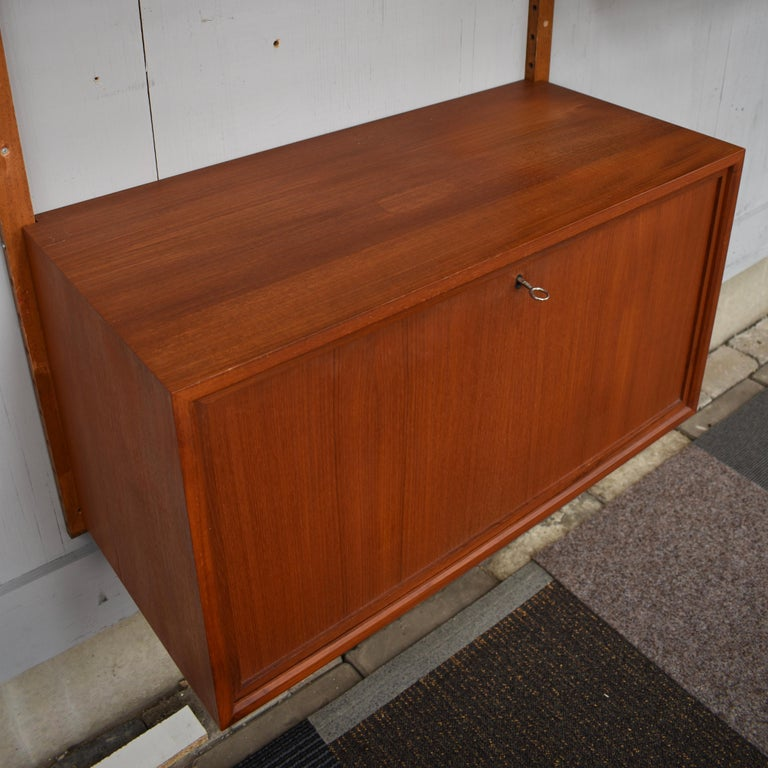 Cadovius Wall Unit 'Royal' Series in Teak - Denmark, 1950s For Sale 3