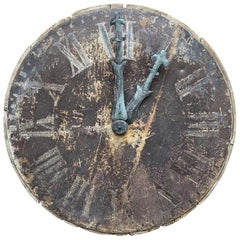 Cadran Clock Face Pre-1900s France-Décor Piece