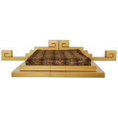 """Caduta Di Babilonia"" bed by Studio 65"