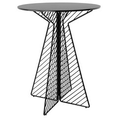 Cafe Bar Table in Black by Bend Goods