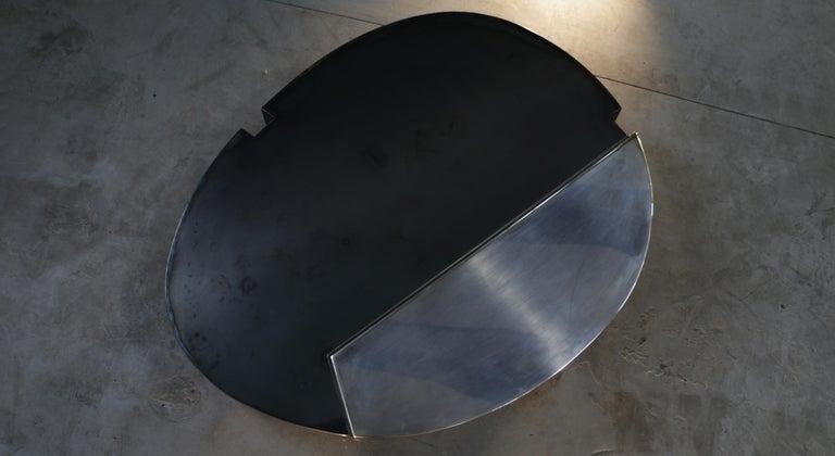 Minimalist Cafè, Sculptural Contemporary Coffee Table For Sale