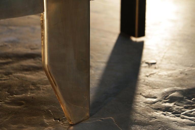 Cafè, Sculptural Contemporary Coffee Table In New Condition For Sale In Serle, Brescia