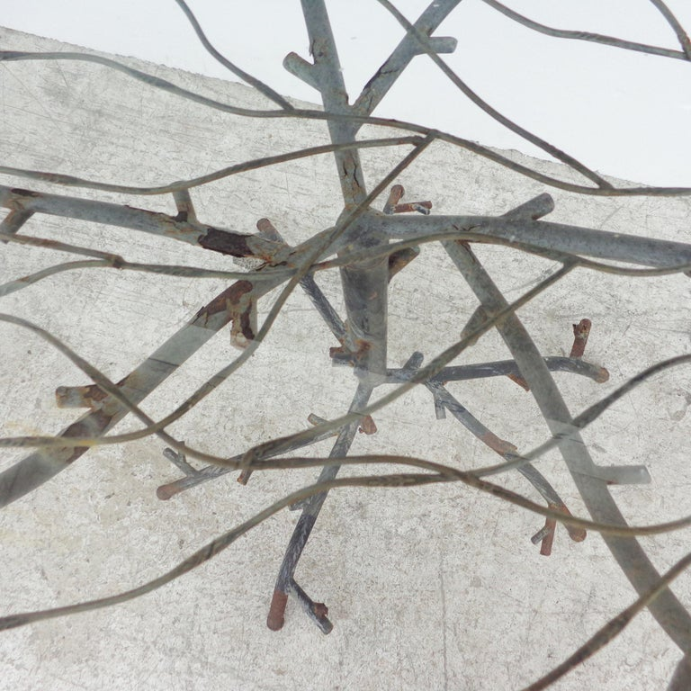 20th Century Cafe Table in the Manner of Alberto Giacometti For Sale