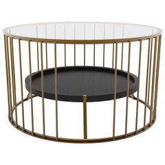 Cage N. 5 Extra Black Coffee Table