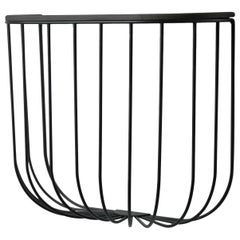Cage Shelf, Black or Dark Ash