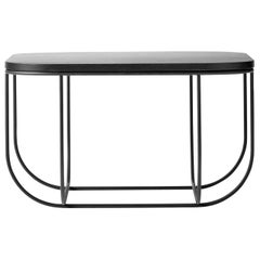 Cage Table, Black/Dark Ash, Extra Large by Form Us With Love