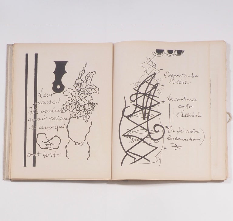 20th Century Cahier de Georges Braque 1917-1955 First Edition Book 1956 For Sale