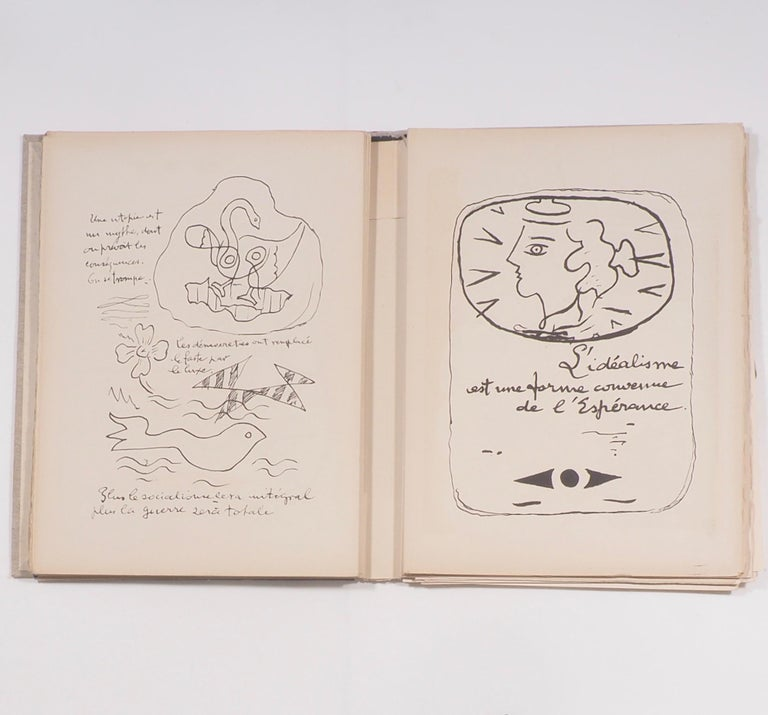 Cahier de Georges Braque 1917-1955 First Edition Book 1956 In Good Condition For Sale In London, GB