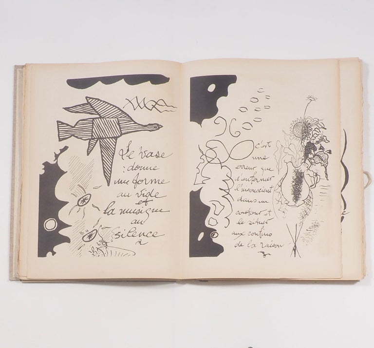 Cahier de Georges Braque 1917-1955 First Edition Book 1956 For Sale 2