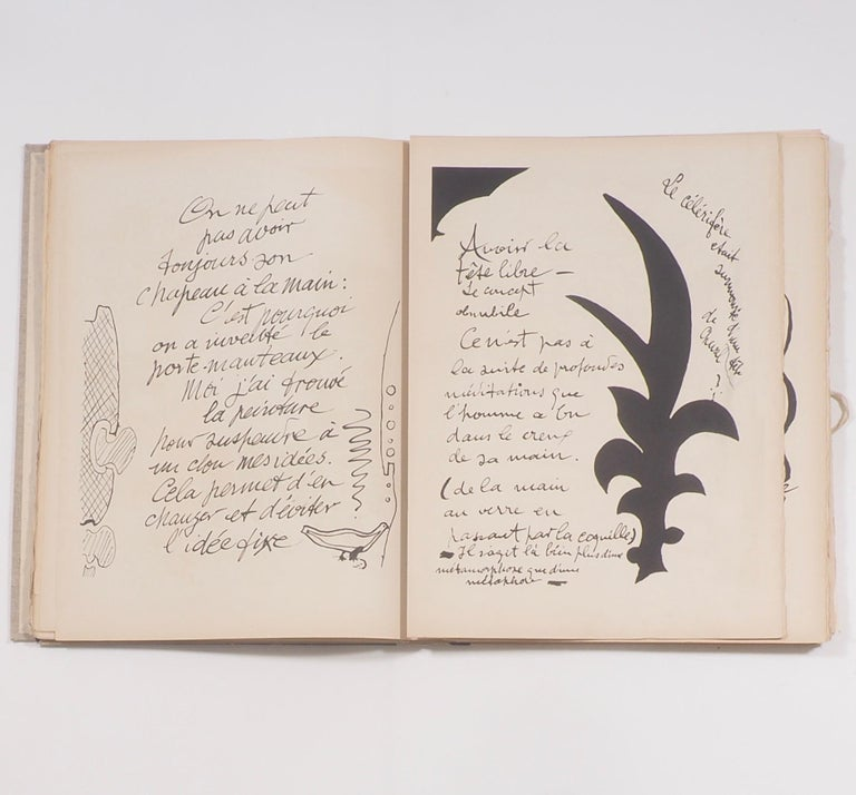 Cahier de Georges Braque 1917-1955 First Edition Book 1956 For Sale 1