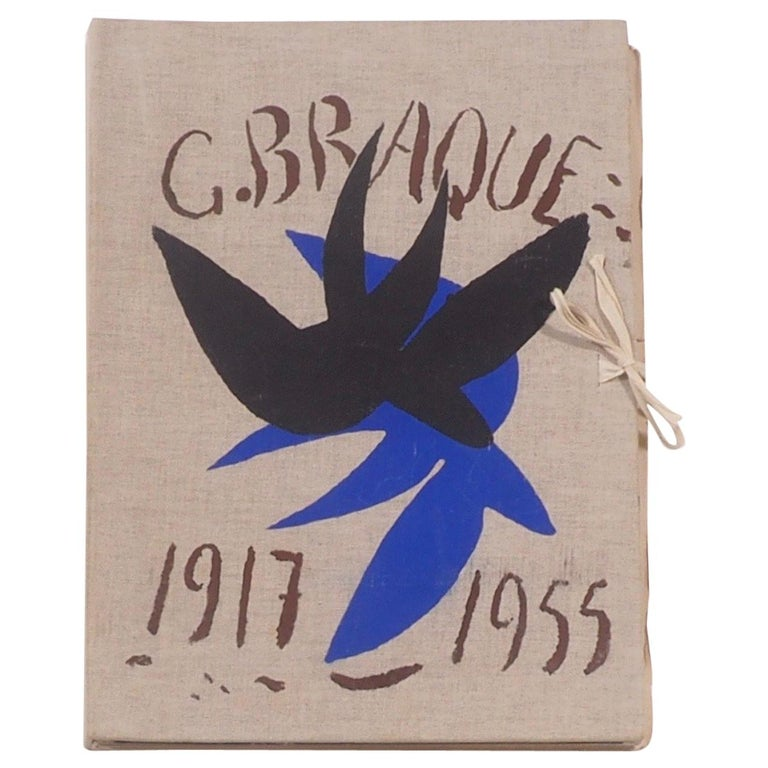 Cahier de Georges Braque 1917-1955 First Edition Book 1956 For Sale