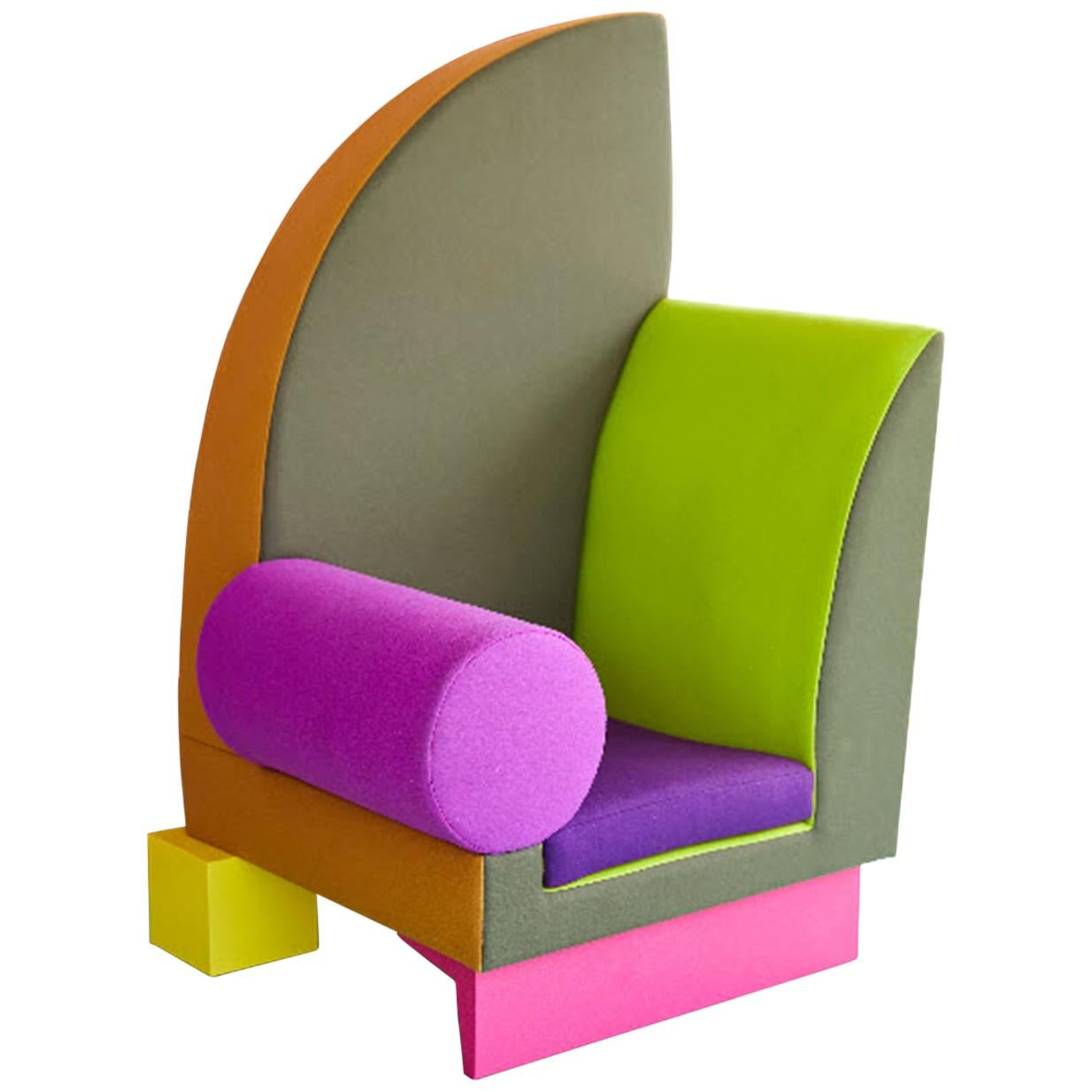 'Cairo' Chair by Peter Shire, 2018