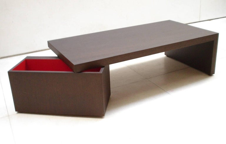 Contemporary Caixa Table For Sale