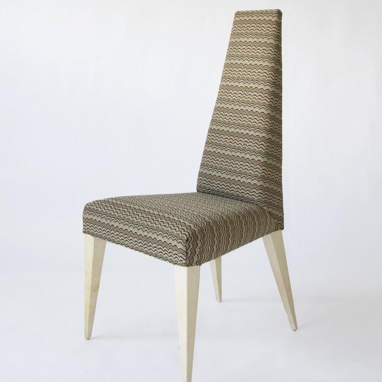 Italian Cajal Dining Chair For Sale