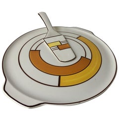 Cake Plate and Server by Eva Zeisel for Schramberg Bauhaus