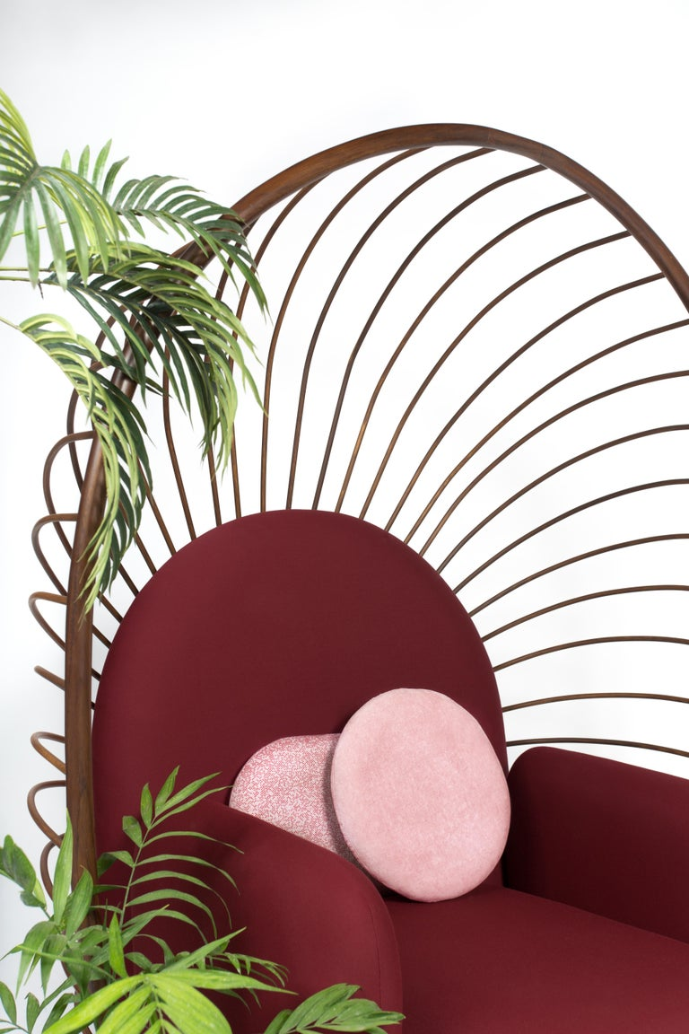 Hand-Crafted Calaca Armchair, Contemporary Mexican Design For Sale
