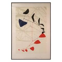 Calder 1970s Exhibition Poster