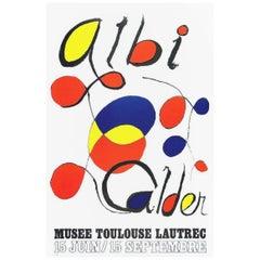 Calder Albi Original Vintage Poster