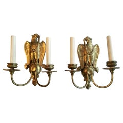Caldwell Sconces with Eagle Motif