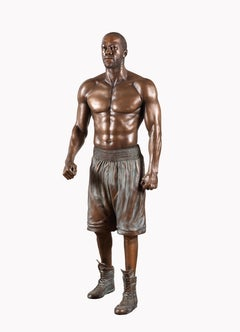 Deontay Wilder, The Vow, Lifesize Sculpture