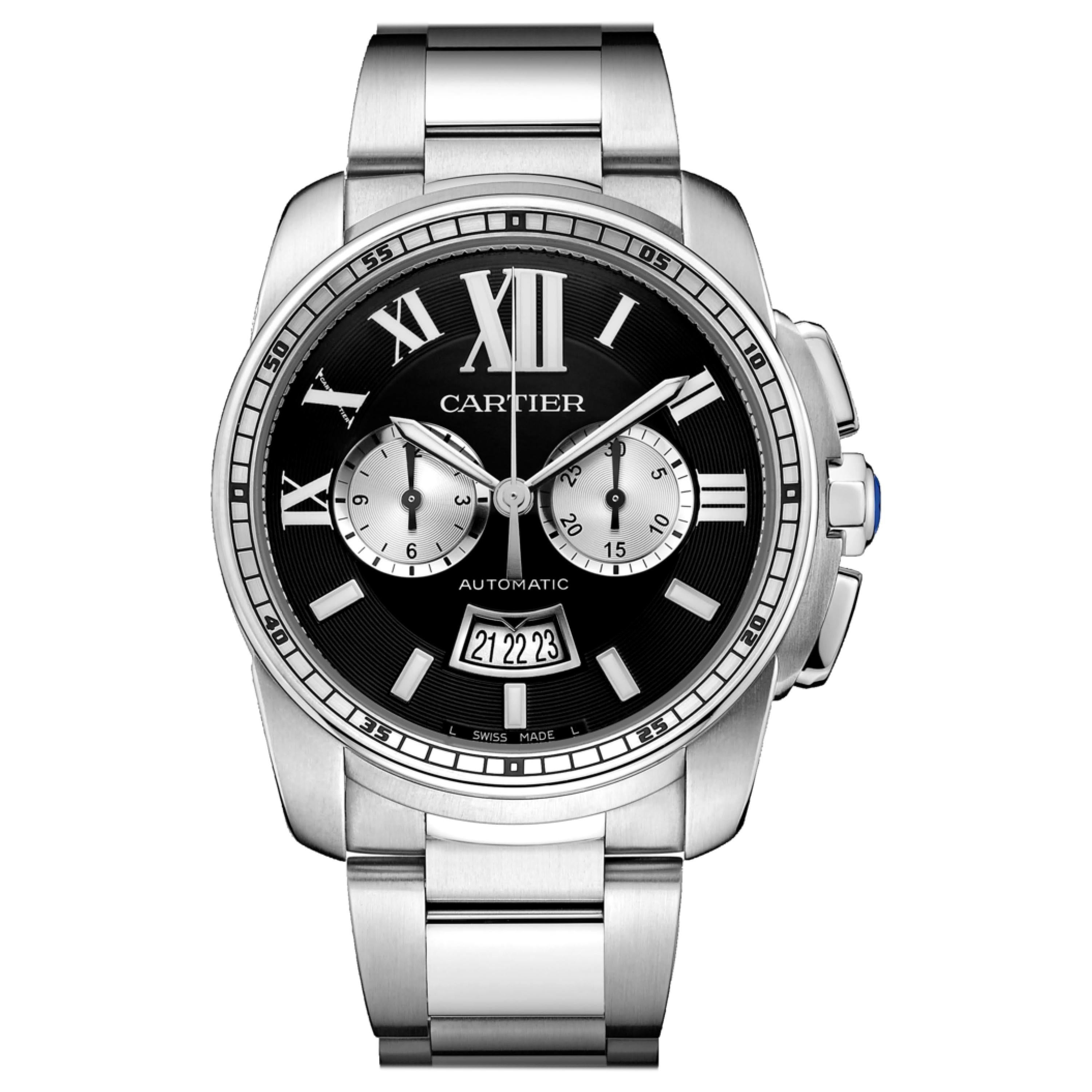 Calibre de Cartier Pre-Owned Stainless Steel W7100061