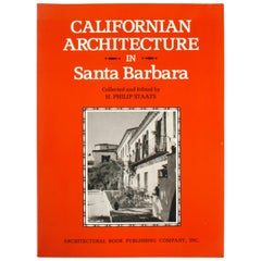 """""""California Architecture in Santa Barbara"""" Book"""