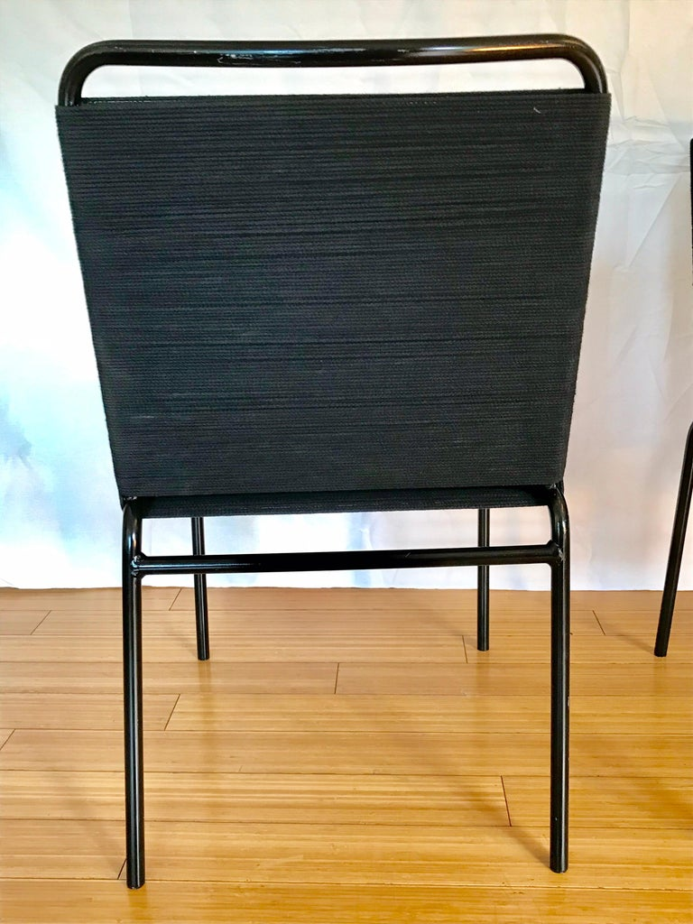 California Design Cord Chairs, 1950s For Sale 5