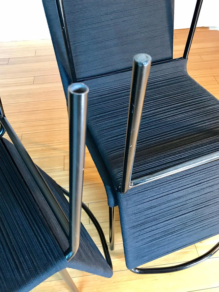 20th Century California Design Cord Chairs, 1950s For Sale