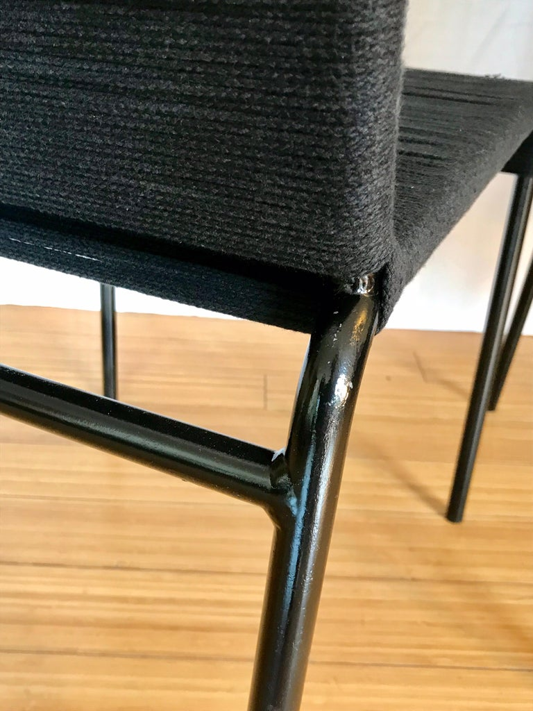 California Design Cord Chairs, 1950s For Sale 1