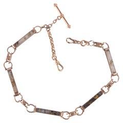 California Gold Quartz Watch Chain